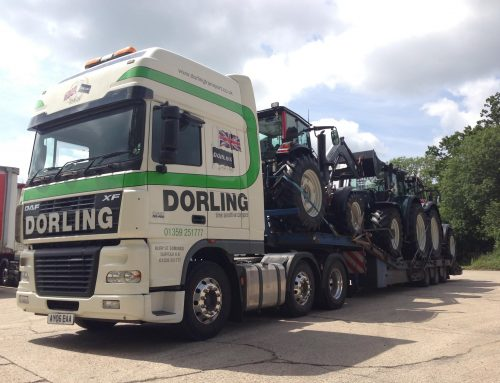 Low loader tractor transport Suffolk